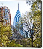 One Liberty Place Acrylic Print