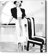 One Mile From Heaven, Claire Trevor Acrylic Print