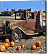 One More Pumpkin Acrylic Print