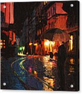 One Of These Nights Acrylic Print