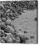 One Pebble Many Pebbles Acrylic Print