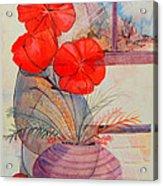 One Petal Down II Acrylic Print