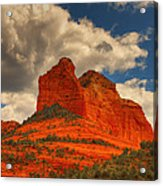 One Sedona Sunset Acrylic Print