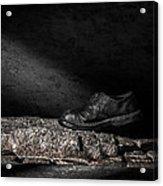 One Step Acrylic Print by Bob Orsillo