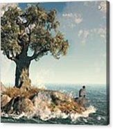 One Tree Island Acrylic Print