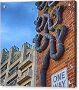 One Way To A Wrong Turn Acrylic Print