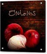 Onions II Acrylic Print