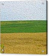 Ontario Farm In Landscape Mode Acrylic Print