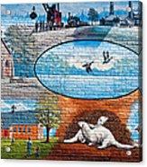 Ontario Heritage Mural Acrylic Print