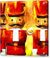 Onward Toy Soldiers Acrylic Print