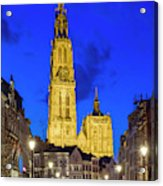 Onze-lieve-vrouwekathedraal Cathedral Acrylic Print
