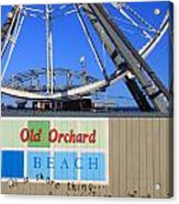 Oob- Its A Shore Wheel Acrylic Print