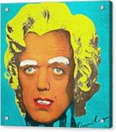 Oompa Loompa Blonde Acrylic Print