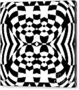 Op Art Geometric Pattern Black White Print No.230. Acrylic Print