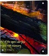 Open Air Fires Acrylic Print