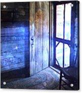 Open Cabin Door With Orbs Acrylic Print