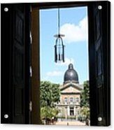Open Church Door - Macon Acrylic Print