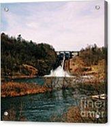 Dam At Raystown Lake Acrylic Print