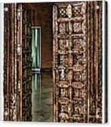 Open Door By Diana Sainz Acrylic Print