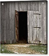 Open Doorways Acrylic Print
