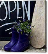 Open For Business Acrylic Print