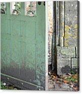 Open Garden Gate Acrylic Print