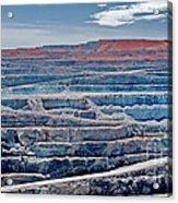 Open Pit Gold Acrylic Print