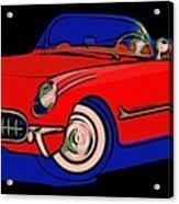 Open Road Dream Acrylic Print