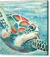 Open Seas Acrylic Print by Joanna Gates
