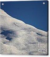 Open Ski Trail St Moritz Acrylic Print