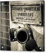 Open Sprinkler Acrylic Print