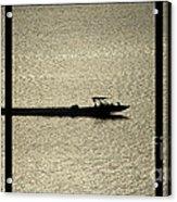Open Waters Triptych Acrylic Print