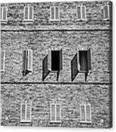 Open Window Acrylic Print