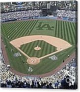 Opening Day Upper Deck Acrylic Print by Chris Tarpening