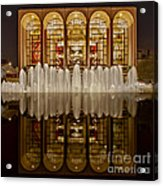 Opera House Reflections Acrylic Print