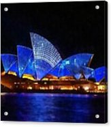 Opera House Sydney Australia Acrylic Print