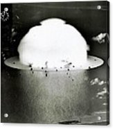 Operation Crossroads Acrylic Print by Benjamin Yeager