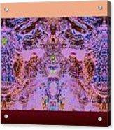 Opositecolorsmix Acrylic Print