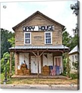 Opry House - Square Acrylic Print
