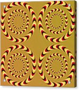 Optical Ilusions Summer Spin Acrylic Print