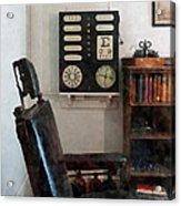 Optometrist - Eye Doctor's Office With Eye Chart Acrylic Print