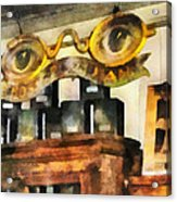 Optometrist - Spectacles Shop Acrylic Print