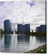 Oracle Buildings In Redwood City Ca Acrylic Print