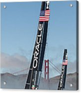 Oracle Team Usa - 1 Acrylic Print by Gilles Martin-Raget