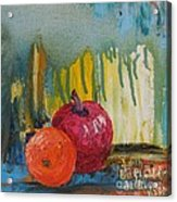 Orange and Apple - SOLD Acrylic Print