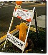 Orange And Ninth Coronado California Acrylic Print