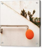 Orange Baloon Acrylic Print