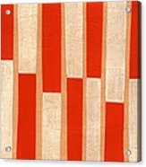 Orange Bars Acrylic Print
