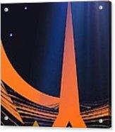 Orange City Acrylic Print