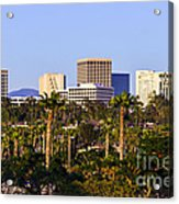 Orange County California Office Buildings Picture Acrylic Print